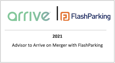 Advisor to Arrive on Merger with FlashParking